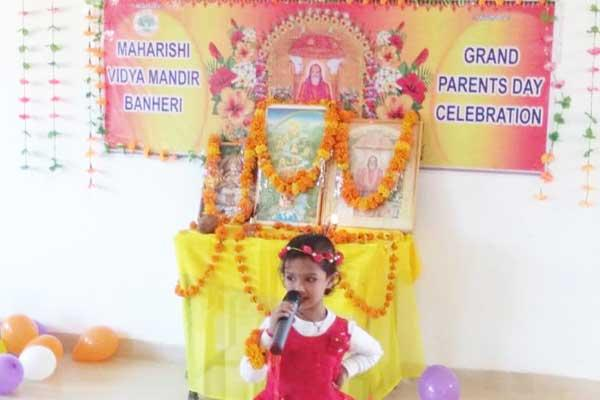 Celebration of Grand Parents Day